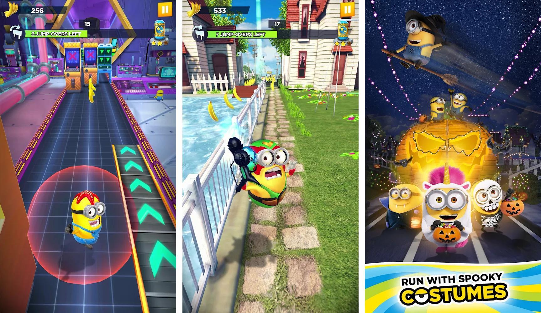 Minion Rush: infinite run game