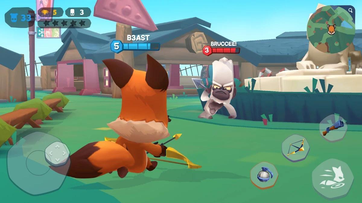 Zooba: चिड़ियाघर बैटल रॉयल गेम