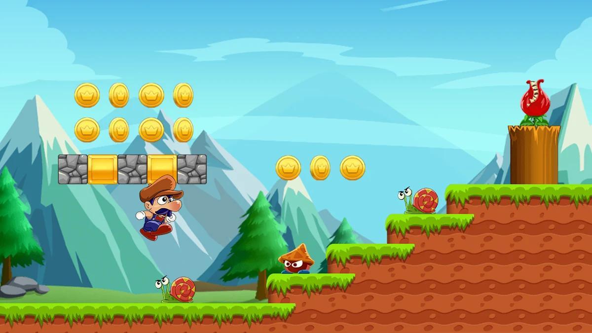 सुपर बिंगो जाओ: नई मुक्त साहसिक जंगल कूद खेल