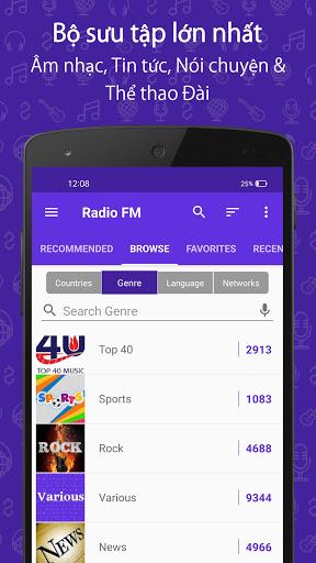 Đài FM (Radio FM) screenshot 3