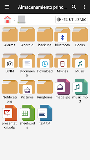 Gestor de archivos screenshot 3