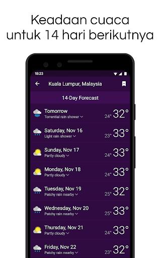Clime: Radar Cuaca dan Ramalan screenshot 4