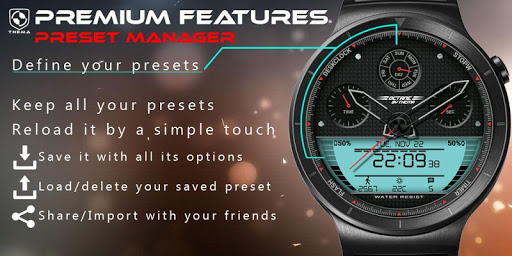 Octane Watch Face & Clock Widget скриншот 7