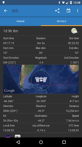 ISS Detector screenshot 3