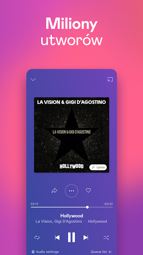 Deezer: muzyka, playlisty i podcasty screenshot 1