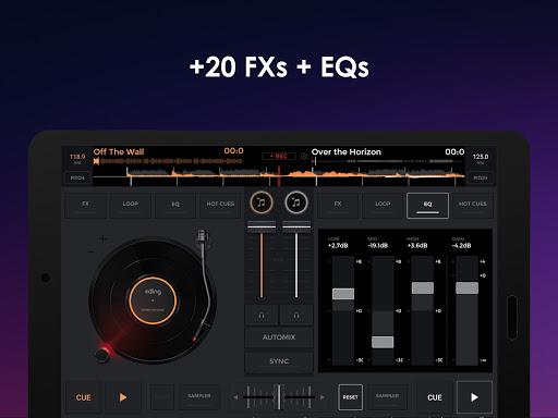 إيدجنغ ميكس: خلاط موسيقي دي جي 9 تصوير الشاشة