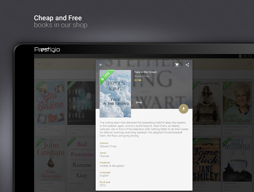 eReader Prestigio: Okuyucu screenshot 11