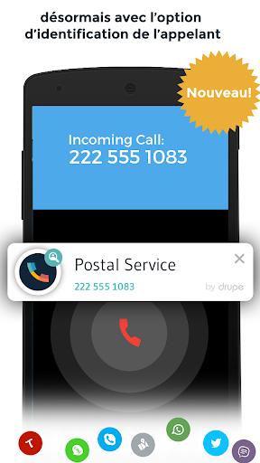 Contacts & Téléphone - drupe screenshot 2