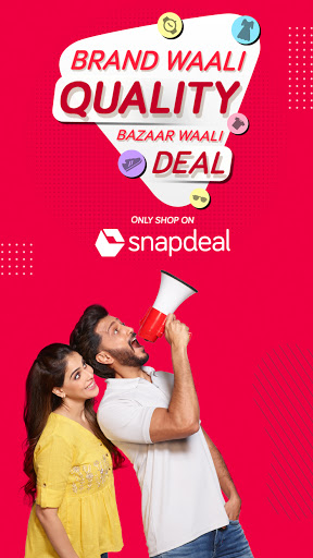 Snapdeal Shopping App -Free Delivery on all orders screenshot 1