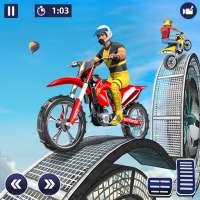 バイクスタントゲーム2021バイクジャンプ-無料ゲームのダウンロード、オートバイレースゲーム on 9Apps