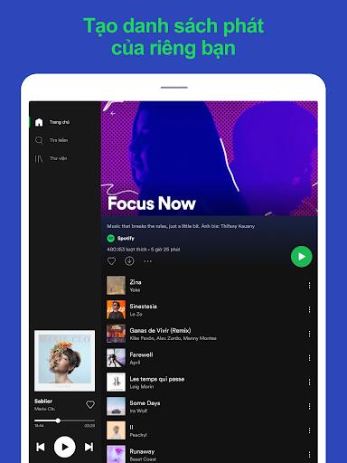 Spotify: Nhạc và podcast screenshot 12