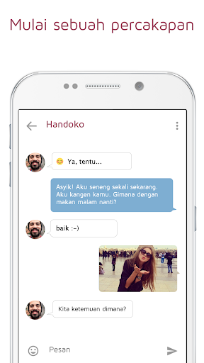 Ngobrol Menggoda Flirt JAUMO screenshot 4