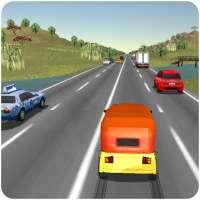 Tuk Tuk Rickshaw: Auto Traffic Racing Simulator on 9Apps