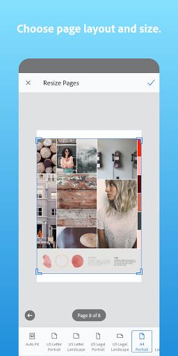 Adobe Scan: PDF Scanner with OCR, PDF Creator screenshot 7