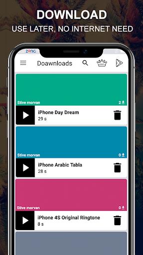 Toques grátis para iPhone X Xs X Max Android ™ screenshot 4