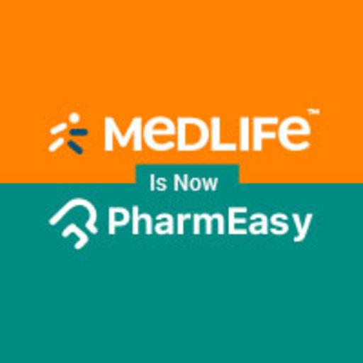 Medlife Is Now PharmEasy أيقونة