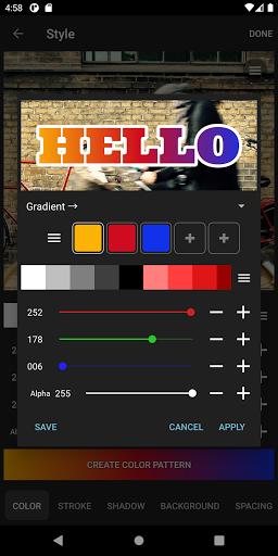 Phonto - Testo su Foto screenshot 7