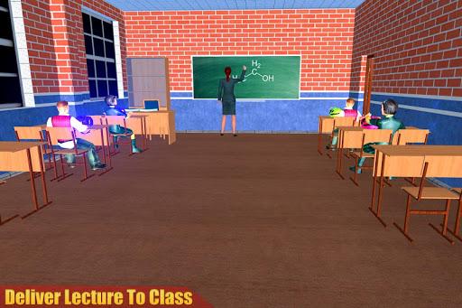 Virtual High School Teacher 3D screenshot 11