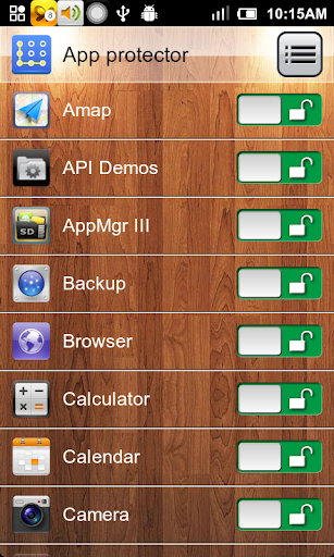 Bloqueo de aplicación screenshot 5