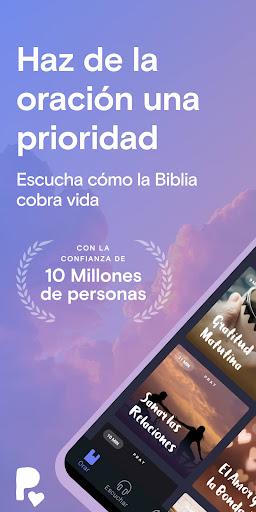 Pray.com: Oración, Dormir, Biblia, Meditación screenshot 1