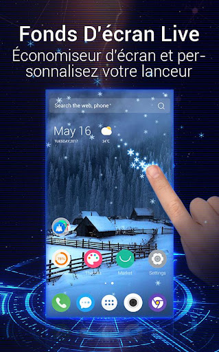 U Launcher 3D: Nouveau Launcher 2020, thèmes 3D screenshot 2