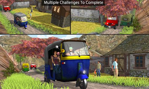 Tuk Tuk Auto Rickshaw Offroad Driving Games 2020 screenshot 5