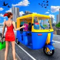 Rickshaw Driving Adventure Tuk Tuk Parking Game on 9Apps