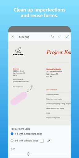 Adobe Scan: PDF Scanner with OCR, PDF Creator screenshot 3