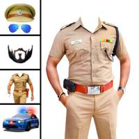Men police suit photo editor on APKTom