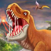 DINO WORLD - Jurassic dinosaur game on 9Apps