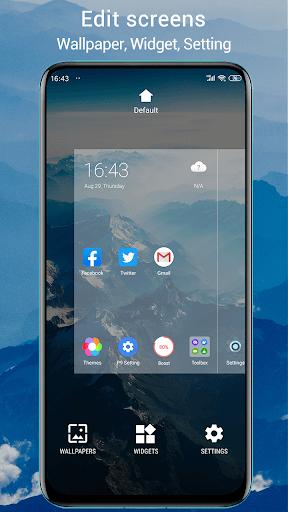 P Launcher 2021 new screenshot 5
