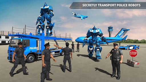 Polizeiauto Robotertransporter screenshot 2