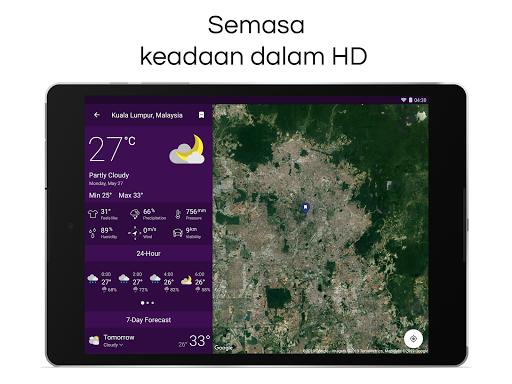 Clime: Radar Cuaca dan Ramalan screenshot 17