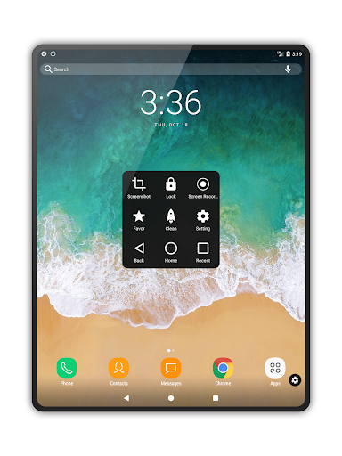 Assistive Touch para Android screenshot 8