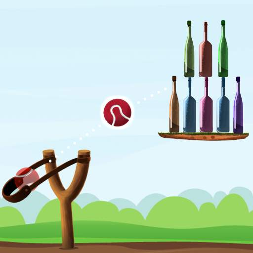 Bottle Shooting Game