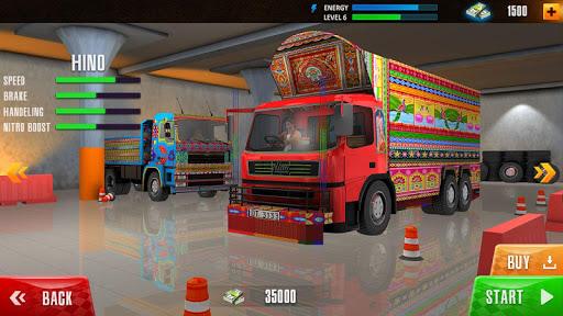 Indian Cargo Truck Driver 2021 screenshot 1