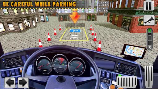 Sürüş Otobüs Park Etme Oyunu 2020: Otobüs oyunları screenshot 8