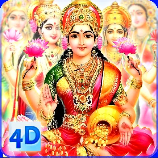 4D Lakshmi Live Wallpaper icon