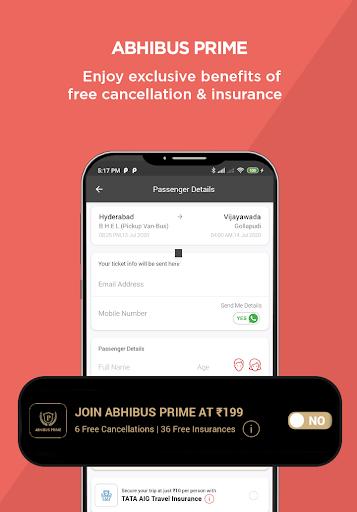 AbhiBus - Fastest Online Bus Ticket Booking App screenshot 6