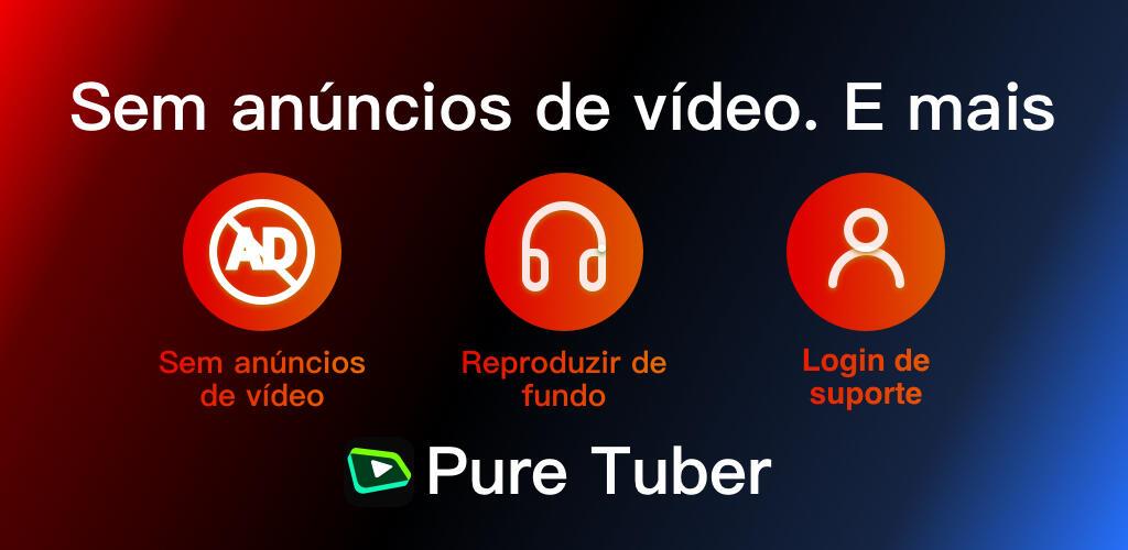 Pure Tuber- Ads de vídeo em bloco, Prêmio Gratuito screenshot 1
