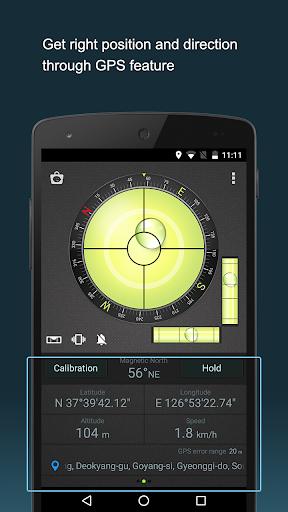 Compass Level & GPS स्क्रीनशॉट 4