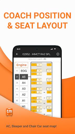 Train Ticket Booking App for IRCTC: Train man screenshot 6