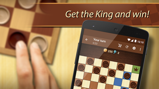 Checkers - strategy board game screenshot 2