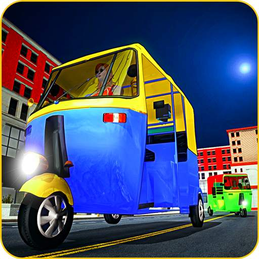 Tuk tuk Chingchi Rickshaw: City Rickshaw driver