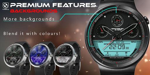 Octane Watch Face & Clock Widget скриншот 8