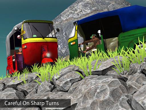 Tuk Tuk Auto Rickshaw Offroad Driving Games 2020 screenshot 14