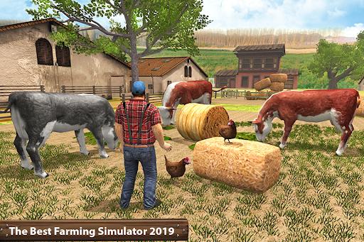 ซิมเกษตรรถแทรกเตอร์อินทรีย์: การเก็บเกี่ยวขนาดใหญ่ screenshot 5
