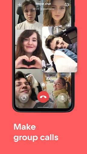 VK — live chatting & free calls screenshot 5
