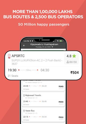 AbhiBus - Fastest Online Bus Ticket Booking App screenshot 2