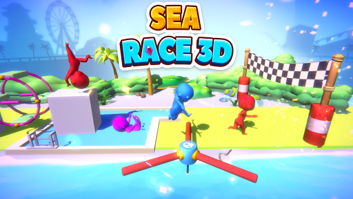 Sea Race 3D - Fun Game Run 3D screenshot 6